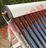 High Absorption Heat Pipe Collector , Solar Hot Water Collector Pitched Roof Installation