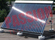 Energy Saving U Pipe Solar Collector For Apartment Stainless Steel Reflector