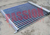 25 Tubes One Side Evacuated Tube Solar Thermal Collectors For Home Bathing