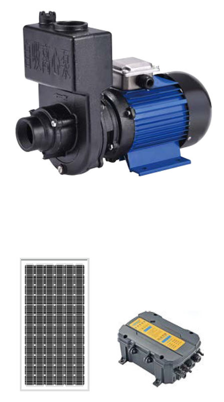 Brushless Surface Solar Dc Submersible Water Pump , Solar Driven Water Pumps